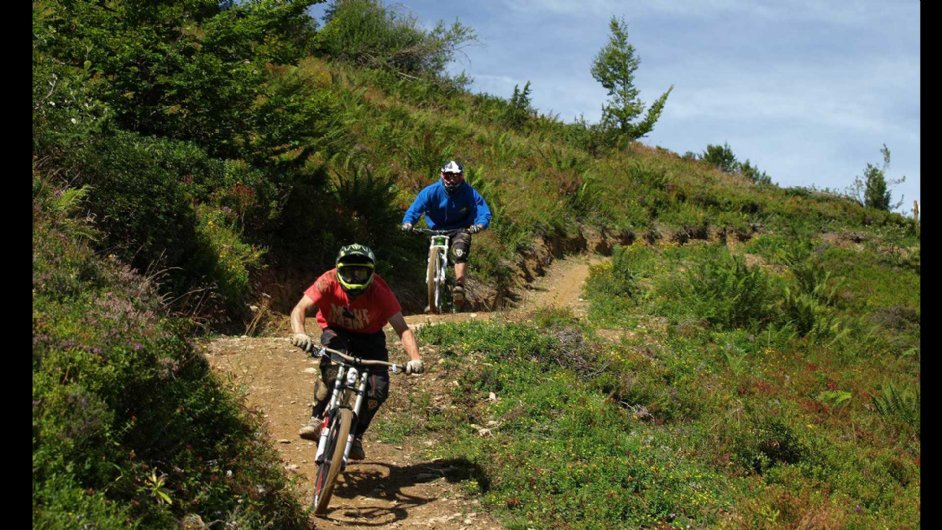 mountainbiking in Guzet