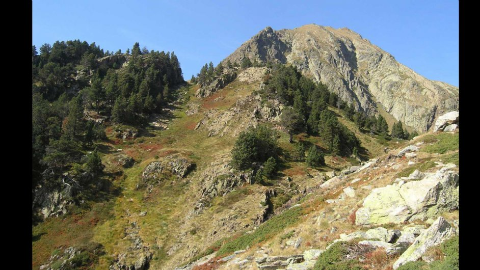 Spanish slope below Marterat  pass